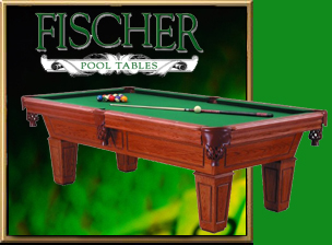 fischer pool tables certainly possess many of the same attributes found in fine woo tones handrubbed finishes exotic burl inlays