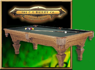 CL Bailey Co - Cl bailey pool table